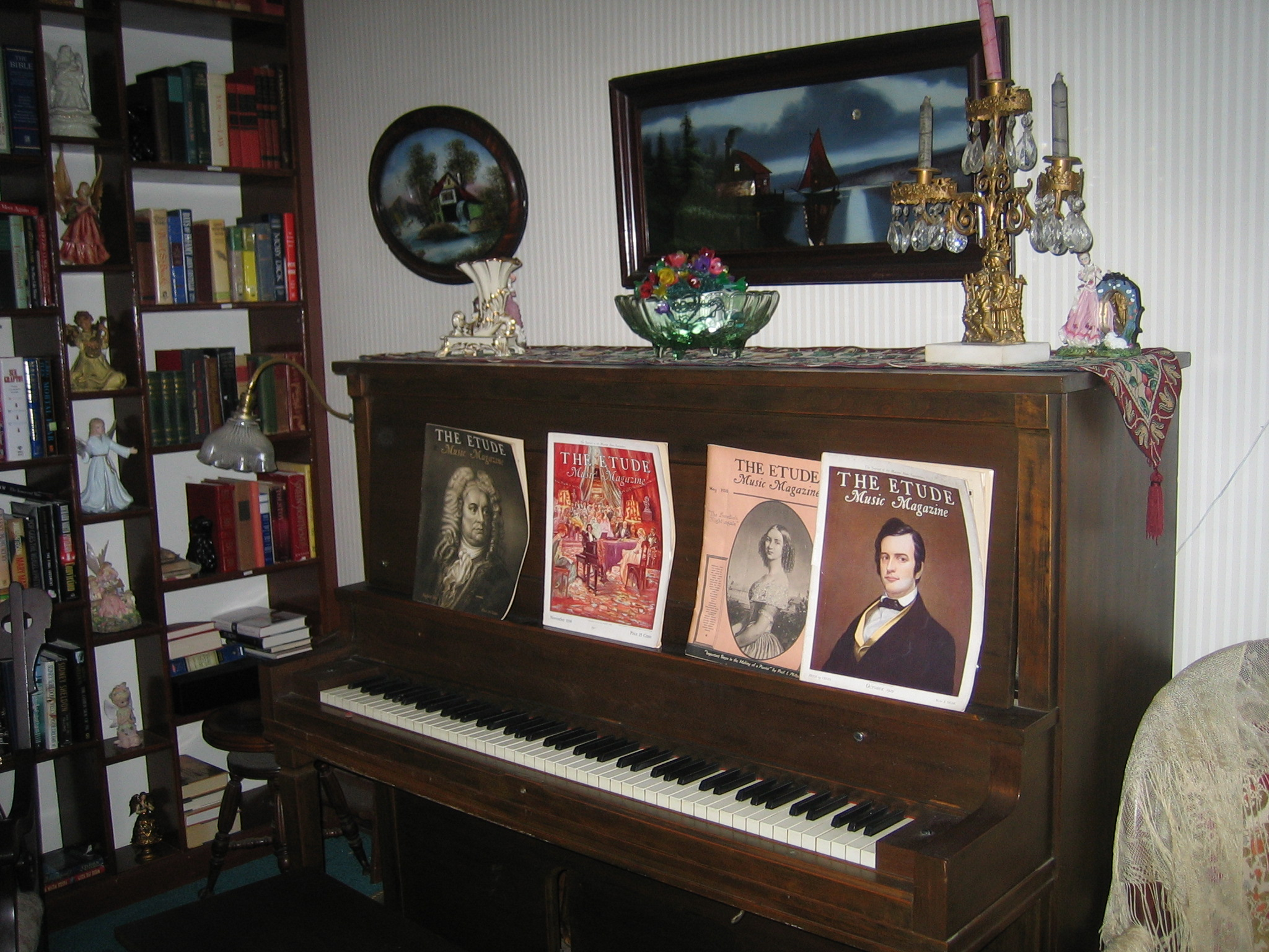 Old Player Piano
