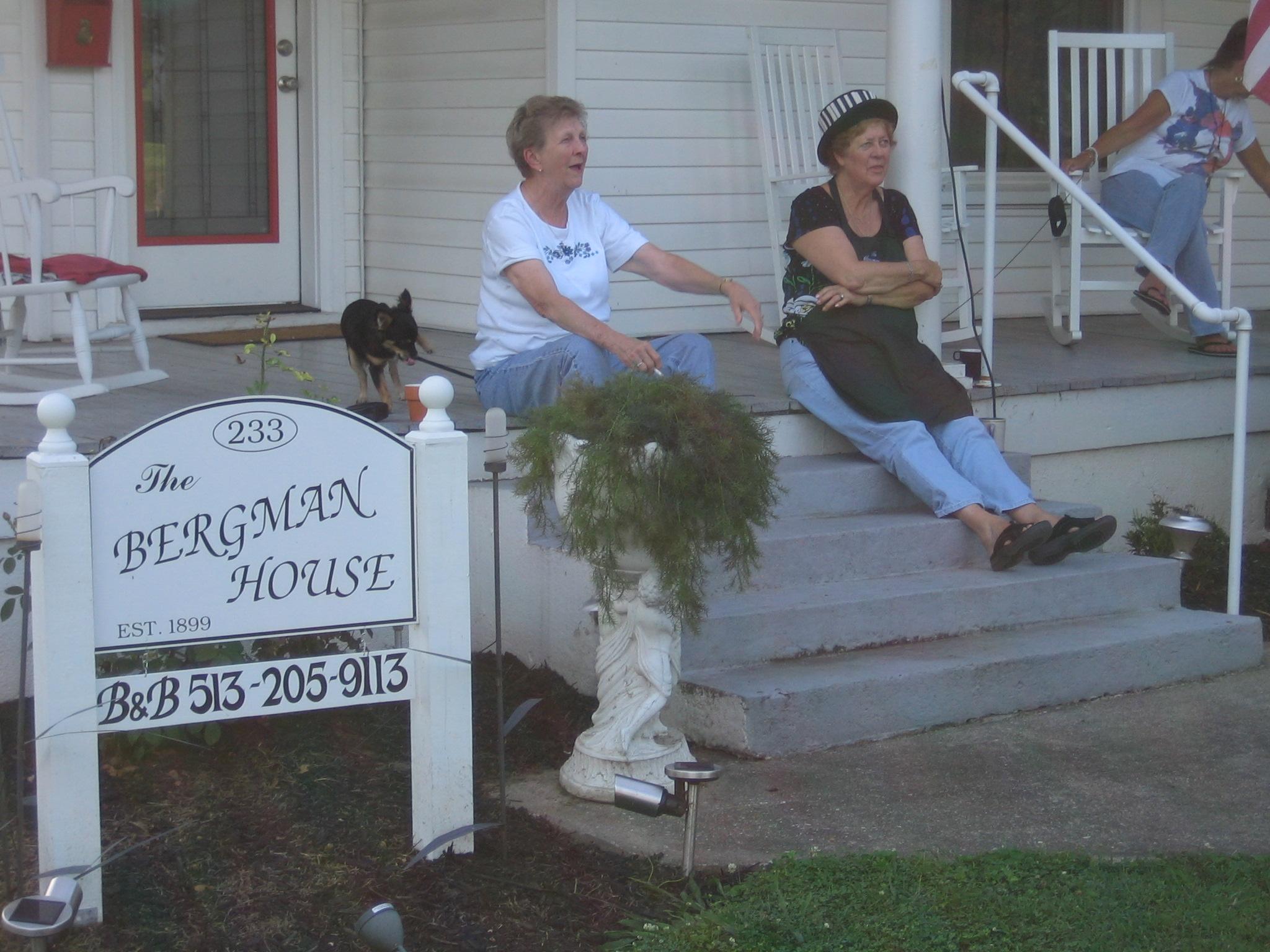 Bergman House Front Porch